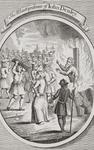 The Martyrdom of John Denley at Uxbridge, from 'The Burning of the Martyrs', published 1741 (litho)