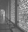 Fretwork passageway and arches, Malaysia.