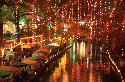 River Walk, a yearly festive celebration of...
