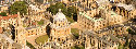 Aerial view of Oxford University buildings,...