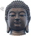 The face of the Buddha