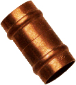 Copper plumbing joint