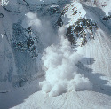Avalanche on Mount McKinley, Alaska