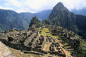 Remains of the city of Machu Picchu