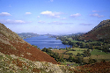 Ullswater is a lake that lies in a U-shaped...
