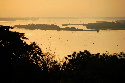 Congo river estuary 							 							Formed by...