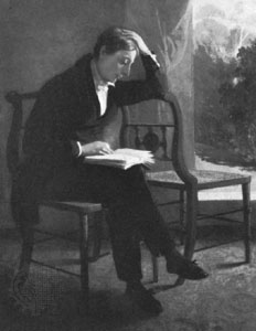 John Keats published sonnets