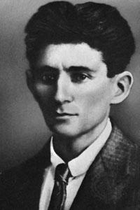 Franz Kafka face