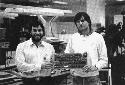 Apple co-founders Steve Wozniak (left) and Steve...