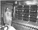 John von Neumann with the IAS computer (courtesy...