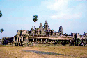 The central five towers of Angkor Wat...