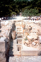 Knossos, Crete: the warehouse with...