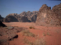 Desert mountains: the Cambrian sandstone...