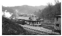 Railroad station, Fleming, Kentucky, ca....