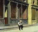 Sunday. Edward Hopper (1926). Oil on canvas....