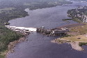 Exploits River and hydroelectric dam at Bishop's...