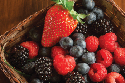 Berries are featured on the American Institute...