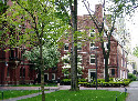 Harvard University's sustainable campus...