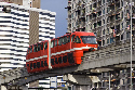 New public transportation like this monorail in...