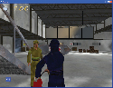 The third person Spotfire game environment