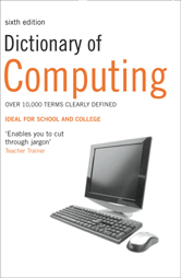 Book jacket for Dictionary of Computing
