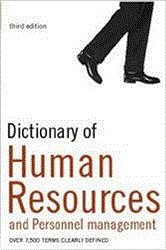 Book jacket for Dictionary of Human Resources and Personnel Management