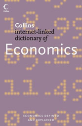 Book jacket for Collins Dictionary of Economics
