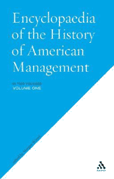 Book jacket for Encyclopedia of the History of American Management