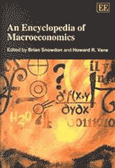 Book jacket for An Encyclopedia of Macroeconomics
