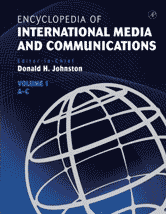 Encyclopedia of International Media and Communications book cover image.