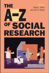 Book jacket for The A-Z of Social Research