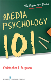 The Psych 101 Series: Media Psychology 101 book cover image.