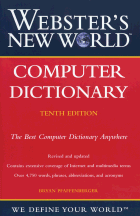 Book jacket for Webster's New World Computer Dictionary