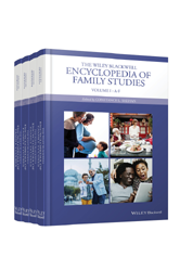Book jacket for The Wiley Blackwell Encyclopedia of Family Studies
