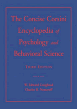 Book jacket for The Concise Corsini Encyclopedia of Psychology and Behavioral Science