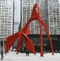 Flamingo. Federal Plaza, Chicago. 1974. Alexander...