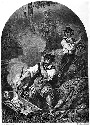 """Le Vampire"" by R. de Moraine, from Paul Féval,..."