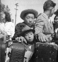 Young evacuees of Japanese ancestry. Turlock,...