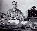 Walt Disney in his office., c.1940....
