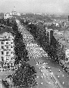 Ku Klux Klan parade on Pennsylvania Avenue....