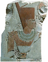 Mentuhotep II, depicted here in a Middle Kingdom...