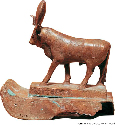 Atum-Re sometimes took the form of a bull known...