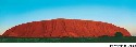 Uluru in central Australia, also called Ayers...