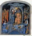 A medieval depiction of Hades and Persephone—the...