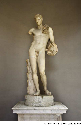 This second-century-BCE Roman statue of Hermes is...