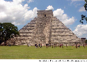 The Temple of Kukulkan, the main pyramid in...
