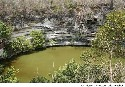 The Sacred Cenote of Sacrifice in the Mayan city...