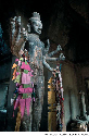 This gigantic effigy of Yama—the Hindu god and...