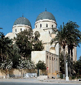 The former Catholic cathedral in Benghazi was...