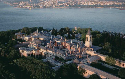 The Topkapi Palace, the residence of the Ottoman...